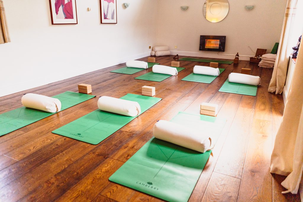 Yoga each morning before a heavy day of business strategy was everything the guests and myself needed!