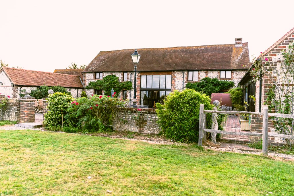 The healthy business retreat was hosted in a beautiful location in west sussex